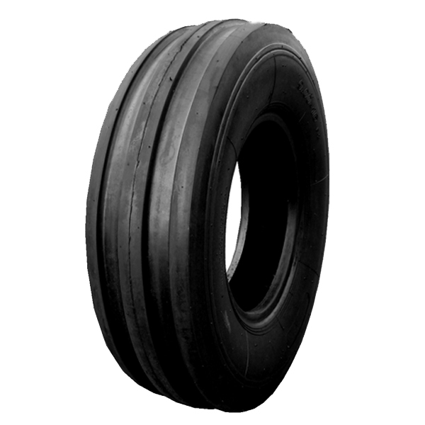 Tractor front tyres and wheels